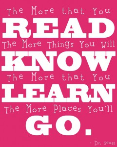 read learn grow