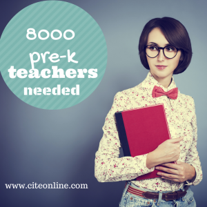 prek teachers needed