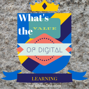 The Value of Digital Learning