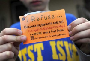 High Stakes Testing Opt Out Numbers